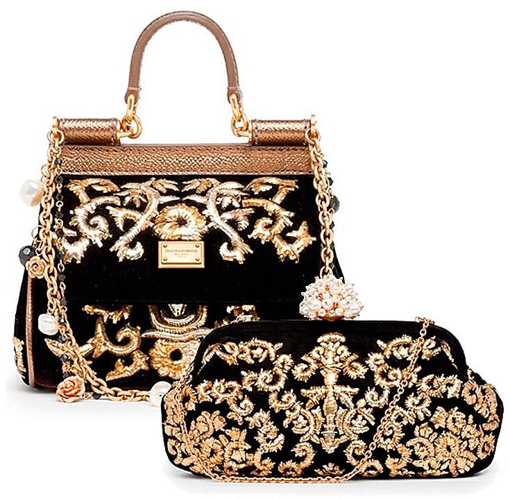 Dolce gabbana черная сумка elisabetta franchi 2015